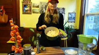 Sohini's International Kitchen: Sattvic Vegan Peruvian Plantain Energy Bomb Soup