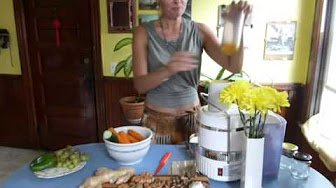 Sohini's International Kitchen: RAW Galangal Ginger Turmeric Vegetable Vitality Juice
